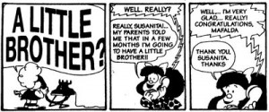 Mafalda | Let your words be few and your exposures many
