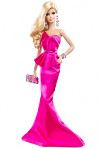 Barbie is a tall, thin, pretty female; this kind of image reinforces gender roles.