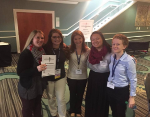 Me (on the right) and my graduate student friends at the SHAV conference
