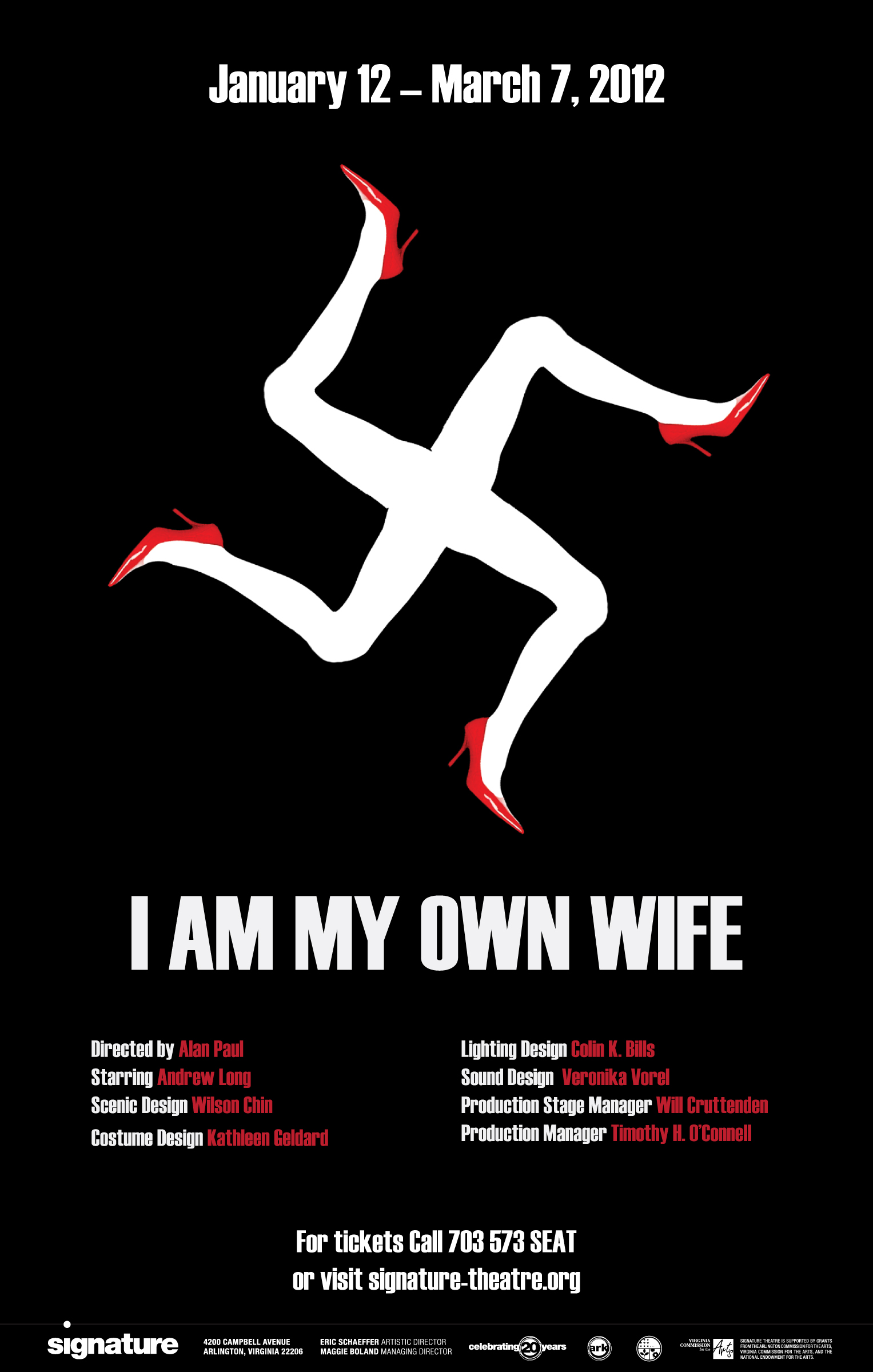 Theater Poster For I Am My Own Wife