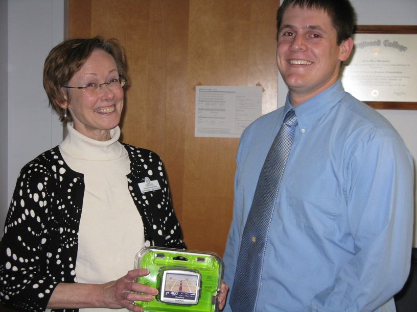 Steven Oliver and Electronic Resources Librarian, Virginia Kinman
