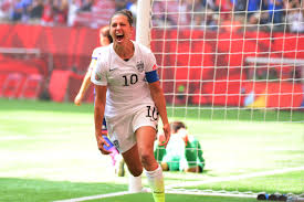 Carli Lloyd, one of the players filing wage suit.